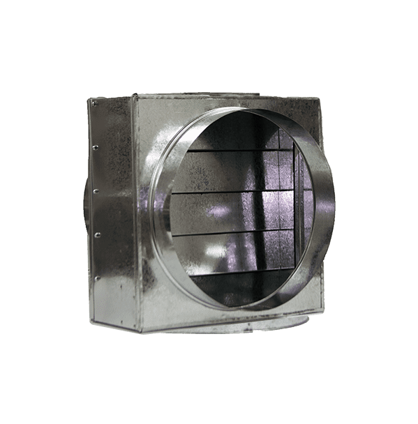 Клапан зворотній прямокутний (круглий)