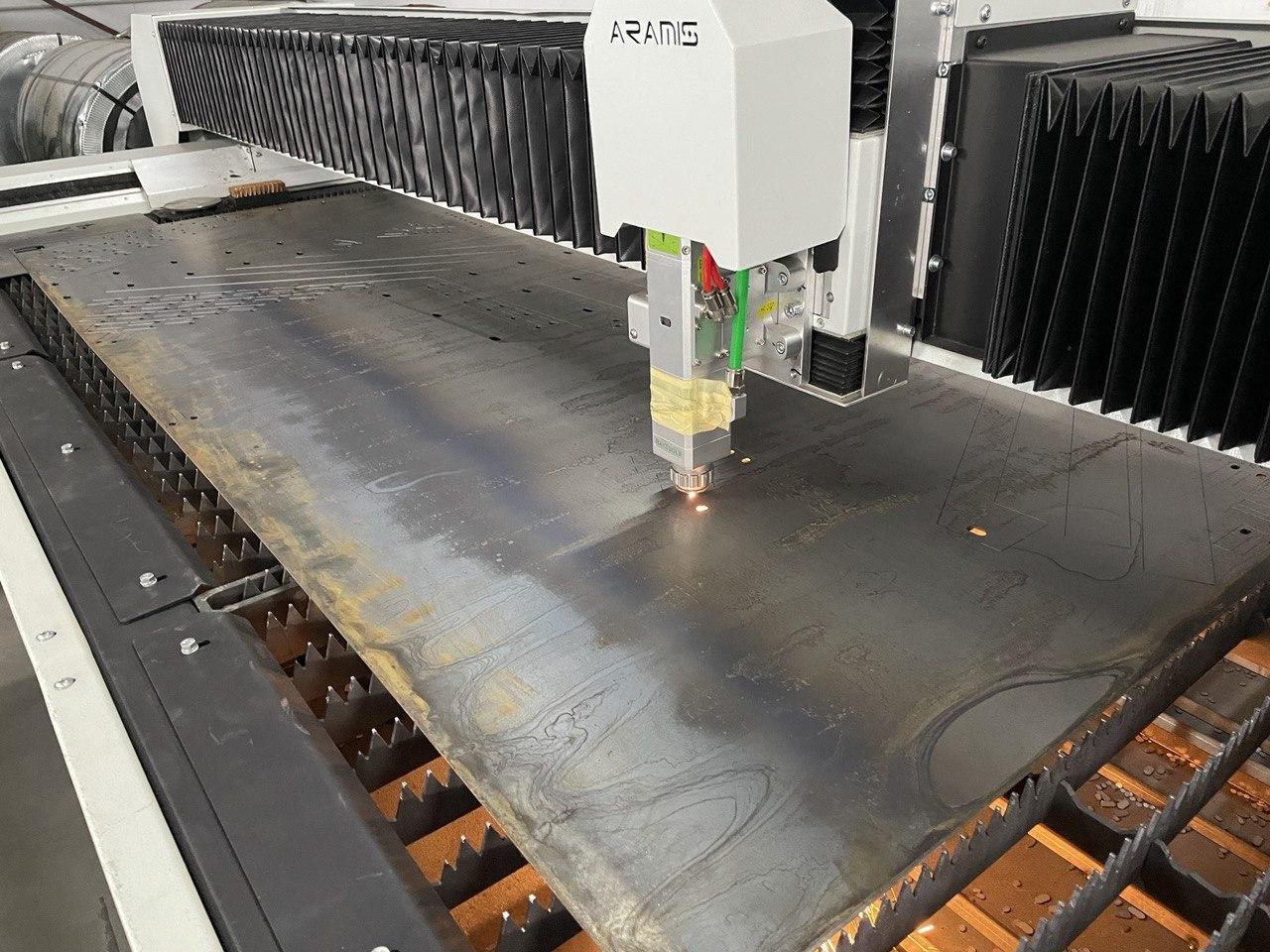 Лазерна порізка металу для виробництва систем вентиляції